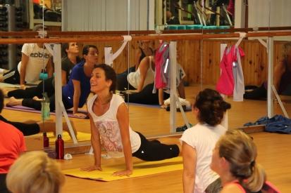Cours de Yoga avec Anne